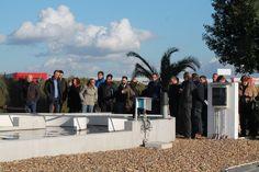 Visitando el proyecto de tratamiento de aguas residuales mediante algas