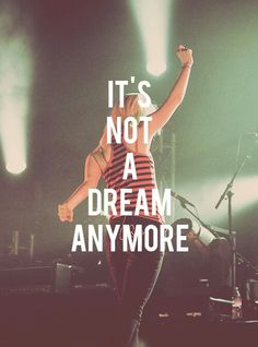 I've seen them play a small stage at Warped Tour, and tonight I can say I've seen them play Madison Square Garden. This band saved my life and continues to inspire me to push for my dreams. So, Congratulations Paramore! It's not a dream anymore. Paramore Lyrics, Music Lyrics, Music Quotes, Paramore Concert, Music Love, Music Is Life, My Music, Paramore Hayley Williams, Warped Tour
