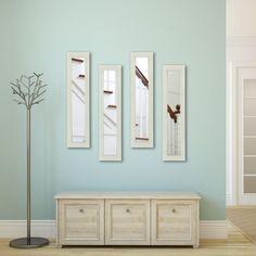 Rayne Mirrors Molly Dawn Glossy Polished White Wall Mirror - P21/6-27 S4