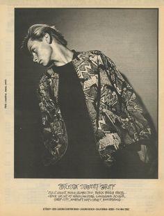 Stussy Street Stuff circa 1987