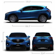 2014 Mazda CX-5 Specifications & Features | Mazda USA