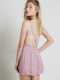 Free People Welcome To Miami Romper at Free People Clothing Boutique