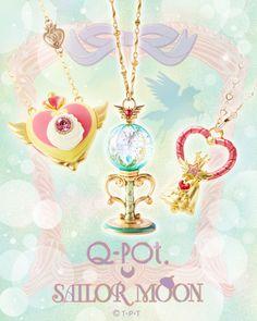 NEW Sailor Moon x Q-pot 3rd Collaboration! more info: http://www.sailormooncollectibles.com/2017/03/20/q-pot-sailor-moon-third-dream-collaboration/