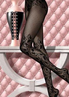 Chantal Thomass Nylons, In Pantyhose, Silk Stockings, Stockings Lingerie, Lady Stockings, Lingerie Fine, Luxury Lingerie, Fashion Tights, Steampunk Fashion