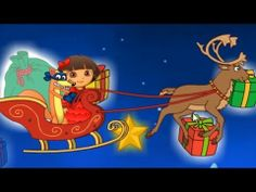 Dora The Explorer in Christmas Carol Puzzle Adventure Game - YouTube