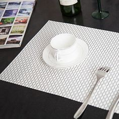 49 best dining table mats placemats images coasters recycled rh pinterest com