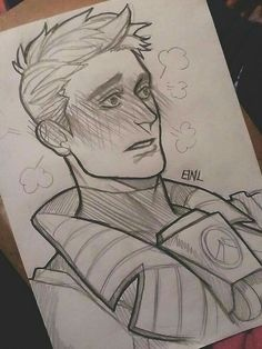 Drawing uploaded by umikochann on PaigeeWorld: ow, overwatch, jackmorrison Overwatch, Widowmaker, Jack Morrison, Character Art, Character Design, Video Game Characters, Video Game Art, Ship Art, Drawing Reference