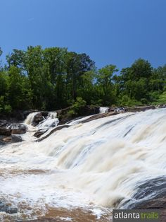 Hike the High Falls State Park near Macon to the High Falls waterfall