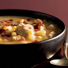 101 Healthy Soup Recipes | Cheddar Chicken Chowder | CookingLight.com