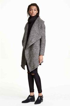 Abrigo en bouclé con lana | H&M