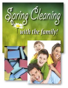 How to Clean Your House in the Spring - with Family! | Need some tips to a clean house? How do you house clean? Check out our spring cleaning checklist… Spring is quickly approaching. With springtime, comes spring cleaning. What is spring cleaning? According to Wiki, it's thoroughly cleaning a house in the spring – especially in colder climates. From:  MommyBearMedia.com