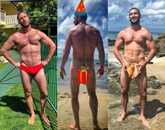 Daily Pablo Appreciation Post - April 26, 2018 (Day 90) Seems Pablo takes the concept of his birthday suit very literally. Which, in turn, is a birthday gift for all of us… 😁😄😍