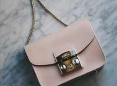 Furla Metropolis bag powder pink