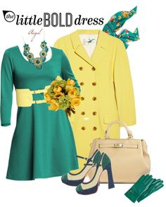 """The Little Bold Dress"" by m-aigul7 ❤ liked on Polyvore"