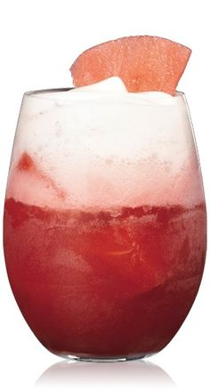 Gypsy Water (2 parts Bacardi Superior Rum 1 1/5 parts Frozen cubes of watermelon 1 part Freshly pressed watermelon juice)