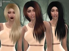 50 colors  Found in TSR Category 'Sims 4 Female Hairstyles'