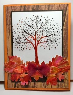TLC554-Autumn Leaves by parknslide - Cards and Paper Crafts at Splitcoaststampers