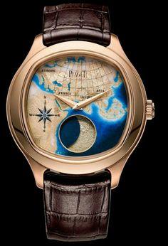 Piaget Emperador Coussin XL gold moonphase