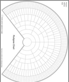 Blank family tree charts can be custom designed with your