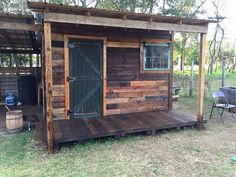 DIY Pallet Shed – Pallet Outdoor Cabin Plans | 99 Pallets