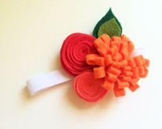 felt flower headband – Etsy ES