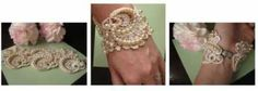 DIY Lace and Bead Cuff Tutorial