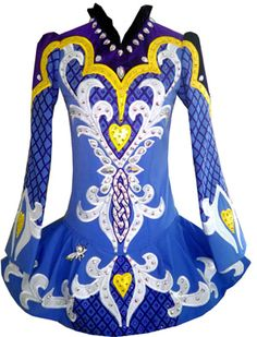 Celtic Art Designs by Lucy Irish Dance Solo Dress Costume