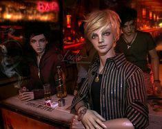 boys at the bar | Saturday night! I was there, taking the pi… | Flickr