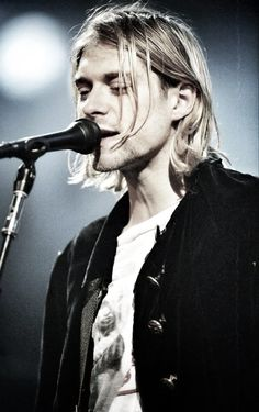 Kurt Cobain 1967 - 1994. Lead singer, guitarist and primary songwriter of the band #Nirvana.  www.afternote.com