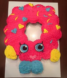 SHOPKIN donut cupcake cake - Google Search