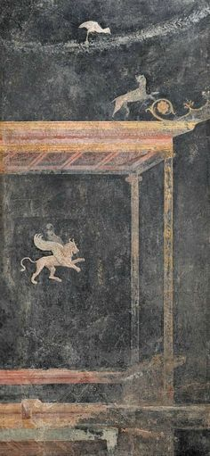Unknown Roman, Fresco panel from Pompeii villa (14–62 A.D.)