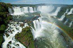 Cataratas do Iguaçu. Na divisa entre Brasil (Foz do Iguaçu-PR) e Argentina (Puerto Iguazú),  Clickfoz do Iguaçu