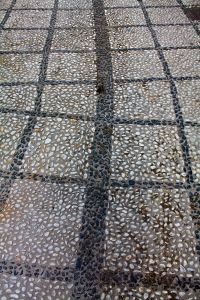 Pebbled squares-streets of Nerja