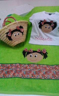 beach towel, little beach basket, beach t-shirt, girl beach pack Beach Basket, Beach T Shirts, Fabric Bags, Beach Girls, Beach Towel, Kids Room, Projects To Try, Presents, Etsy