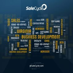 Sales / Business Development opportunities at SaleCycle USA (Herndon). #LoveWhatYouDo at SaleCycle, cart recovery experts. #TagCloud #WordCloud