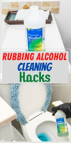 Brilliant ways to use rubbing alcohol that you never thought of. You can use it to wipe down almost anything in your house and sanitize it if you do not like bleach.