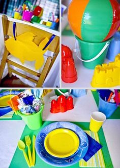 Pool Party Centerpiece Ideas diy pool party decorating ideas youtube Cute Centerpiece And Place Setting Ideas For A Pool Party