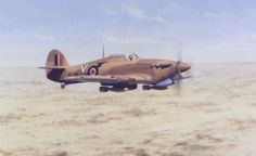 RAF HURRICANE NORTH AFRICA WW2