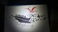 Lord of the rings tattoo idea