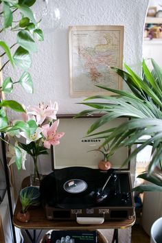 Etsy Jungle for my music corner