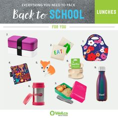 All the Back to School Containers you'll need for work lunches