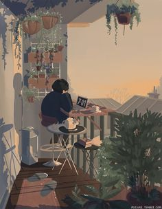 Uploaded by Find images and videos about gif, art and illustration on We Heart It - the app to get lost in what you love. Art And Illustration, Korean Illustration, Cartoon Illustrations, Cartoon Art, Aesthetic Art, Aesthetic Anime, Aesthetic Drawing, Korean Aesthetic, Pretty Art