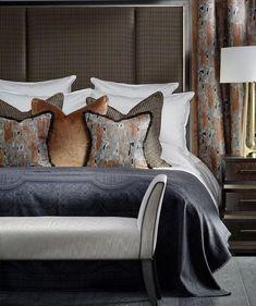 Luxury Bedroom Sets, Luxurious Bedrooms, Home Bedroom, Dream Bedroom, Bedroom Ideas, Bed Ideas, Decoration Bedroom, Sofa Upholstery, Luxury Home Decor