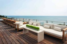 Outdoor Furniture Sets, Outdoor Decor, Luxury Furniture, Outdoor Sofa, Furniture Design, Cape Cod Bay, Rooftop Deck, Building Companies, Diy Deck