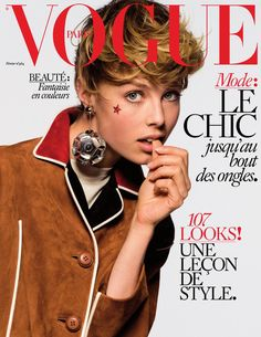 Edie Campbell, Vogue Magazine [France] (February 2016)