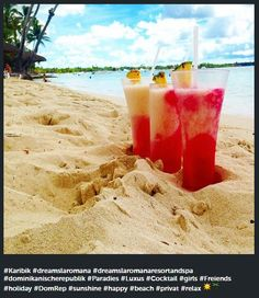 Thanks to julia_mareen for this Instagram photo of Dreams La Romana! Who would you share one of these fruity cocktails with?