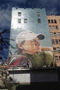 Rory on billboard in San Diego.
