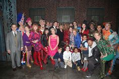 Taylor Swift and Todrick Hall as 'Lola' pose backstage at the musical 'Kinky Boots' on Broadway at The Al Hirschfeld Theater on November 23 2016 in NYC Taylor Swift Visits Broadway By: Bruce Glikas People: Todrick Hall, Taylor Swift 