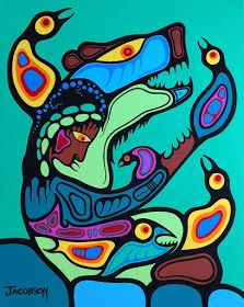 Record: Category: Painting Year Created: 2016 Media: Acrylic on Canvas Dimensions: 24 x 30 inches Signature locati. American Indian Art, Native American Fashion, Woodland Art, Inuit Art, Indigenous Art, Aboriginal Art, Art Styles, Native Art, Steamer