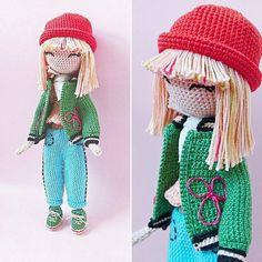 Fanette Crochet doll pattern